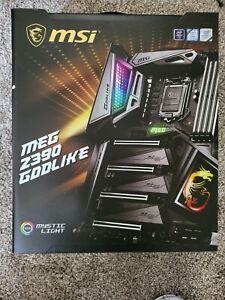 MSI MEG Z390 Godlike, 1151 (i9 gen 9) Intel Motherboard