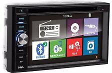 Boss Elite BV760B Double Din DVD/CD/AM/FM/MP3 /iPhone/USB/Bluetooth Receiver