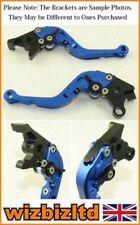 Manetas de embrague de color principal azul para motos