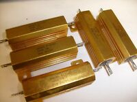 5 lot CLAROSTAT MFG. CO. 9235AD  ELECTRONIC RESISTOR 100 OHM  30W NOS