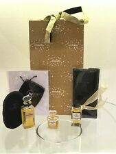 Chanel No.5 Perfume x3 Vintage, Bag Mirror Charm, pouches GIFT SET Christmas bag
