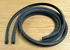 1957 CHEVY WINDSHIELD WASHER RUBBER HOSE SET with PUSH BUTTON WASHERS USA MADE