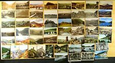 60 Postcards County Devon Dartmoor Dart Dartmouth Uk Ponies Hay Tor 1907-1960's