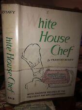 White house chef (Eisenhower) Francois Rysavy Ex Library