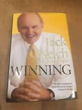 SIGNED by both! JACK WELCH & SUZY WELCH *Winning* First Edition, 2005 Brand New