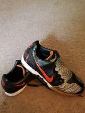 678c3f53ca1 2008 Nike Total ninety Shoot Turf Black Orange 318884~Men 7.5~Soccer Shoe