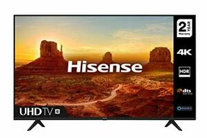 HISENSE 43A7100FTUK 43-inch 4K UHD HDR Smart TV with Freeview play, and Alexa