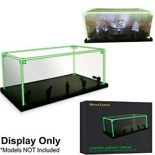 Metal Earth LED Light Display Stand Case Cabinet - 1:18 Diecast 3D Models Games