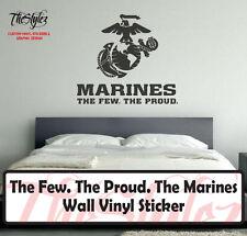 The Few. The Proud. The Marines (USMC) Vinyl Sticker