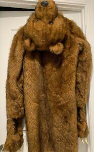 Workaholics Bear Coat - Excellent Condition Fur Sure