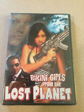 Bikini Girls From The Lost Planet DVD -Sex Spoof- Out Of Print Rare Sealed New