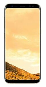 New Samsung Glaxy S8 - 64GB - Maple Gold G950U (Unlocked) Smartphone