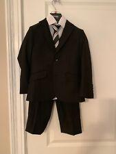 Boys 3 Piece Suit Black 5