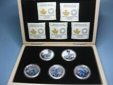 2014 $20X5 Fine Silver Coin Set - The Great Lakes Collection