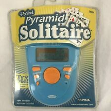 Pocket Pyramid Solitaire Electronic Game Radica 76006 NIP 2005