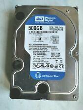 WD Caviar Blue WD5000AAKB 500GB Hard Disk PATA IDE 40pin
