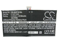 C12P1305 Battery for Asus Transformer Tf701T K00C Tf701T 8150mAh / 30.97Wh