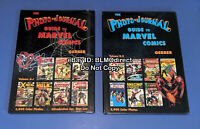 The Photo-Journal Guide to Comic Books Vol 1 & 2 HC Graphic Novel Comic Book