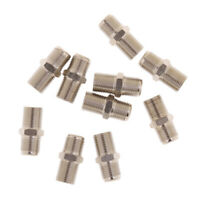 10x RG6 RG59 F Type Female to Female Barrel Coaxial Coax Coupler Adapter