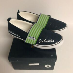 NEW Seattle Seahawks Sneakers Tennis Shoes Women's Size 8  Brand New in Box