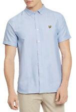 Mens Lyle & Scott Short Sleeved Oxford Shirt Sw605vtr Riviera X41 XL