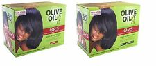 ORS Olive Oil No Lye Hair Relaxer KIT Organic Root Simulator Normal Extra Streng