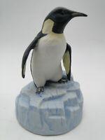 Gorham Gift World China Penguin Bird Music Box 5 1/2in figure hand painted