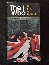 The Who - The Kids Are Alright (Out of Print VHS in MINT Condition)
