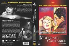Moderato Cantabile (1960) - Jean-Paul Belmondo, Jeanne Moreau  DVD NEW