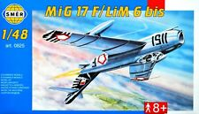 MiG-17 F / LIM-6 Bis in Czech, Egypt, Poland (1/48 model kit, Smer 0825)