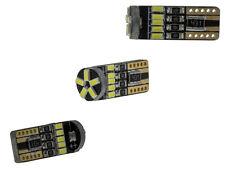 Letronix 1x 15 SMD 3014 LED lámpara w5w t10 Can-Bus blanco 200lm 12v no luz de estacionamiento