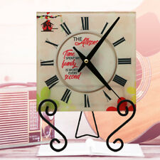 Time Spent with Family Personalized Wall Clock