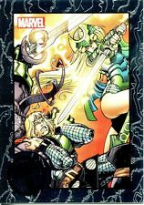 Marvel Universe 2014 Greatest Battles Thor Expansion Chase Card #97
