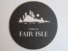 PNW Beer Coaster: Invest in FAIR ISLE Brewing Farmhouse Brewery Through NextSeed