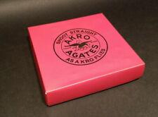 """Antique Vintage Style 1""""  Akro Agates Marble set w Box"""