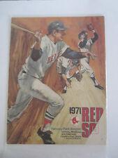 (12) BOSTON RED SOCKS BASEBALL SCOREBOOK & SCORECARD PROGRAMS 70'S- '80'S- BPR 1