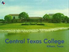 Postcard TX Killeen Central Texas College Bell County Unused MINT