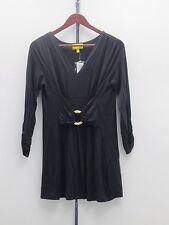 Liz Lange 3/4 Sleeve Ultimate Tunic Top - Small - Black