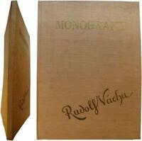 Monografie Rudolf Vácha 1934 Halas Vyskocil monographie peintre tchèque
