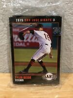 San Jose Giants 2015 Complete Minor League Team Set Pack of Cards Sealed!