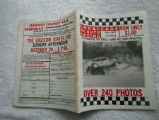CAVALCADE OF AUTO RACING-FALL,1973 PICTORIAL