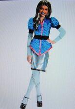 Monster High Scaris Frankie Stein Girls Costume Halloween Dress Up Child L 10-12