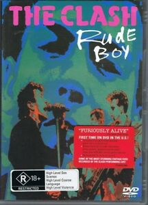 THE CLASH Rude Boy DVD - Includes Additional Bonus Features To Original Release