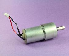 12Vdc Gear Motor 520RPM, 12Vdc, Funciona como bajo como 3Vdc (Aprox. 100 RPM)