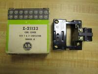 Allen Bradley Z-21133 Coil Cover Series K