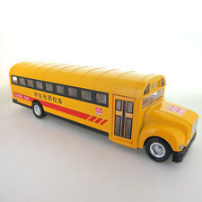 1:43 Diecast American Classical School Bus Model Toy Car With sound and lights