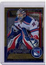HENRIK LUNDQVIST 08/09 OPC O-Pee-Chee Update METAL #210 Hockey Card Parallel