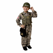 Army Costume - U.S. military Soldier Costume For Kids By Dress Up America