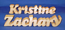 Personalized Wooden Name Plaques - Available In Three Sizes