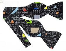 (1) BOW TIE-CELEBRATE PI DAY! GEOMETRY, MATH, ALGEBRA FORMULAS & COLORFUL SHAPES